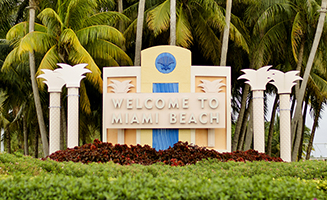 Miami Beach Sign