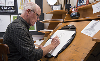 Glen Keane Sketching